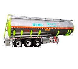 智能罐车|铝合金易燃智能罐式运输半挂车!