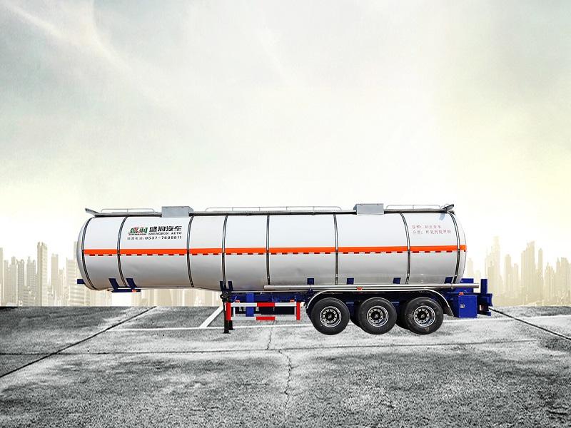 易燃液体罐式运输半挂车