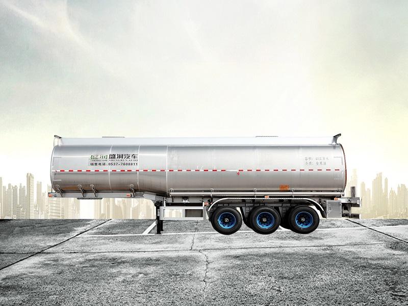 铝合金液态食品运输半挂车