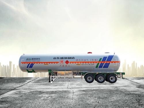 太仓液化气体运输半挂车丙烯(58.35)