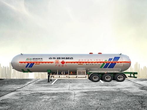 液化气体运输半挂车(丙烷62.7)