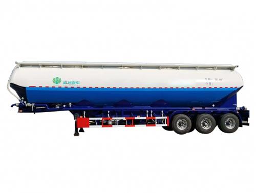 北京铝合金立式粉粒物料运输半挂车