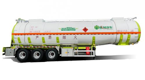 2022款不锈钢全承载式双安全液罐车